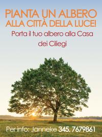 Pianta un albero alla Casa dei Ciliegi