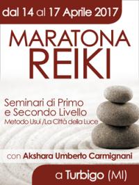 Maratona Reiki a Turbigo Aprile 2017