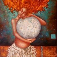 La Luna nel Grembo: Il Ciclo Mestruale come Guida Interiore - Chiara Brunetti