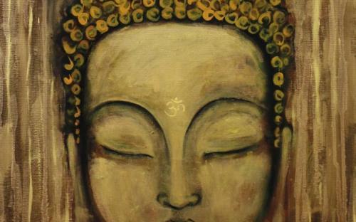 Healing Art - Buddha Bronzo