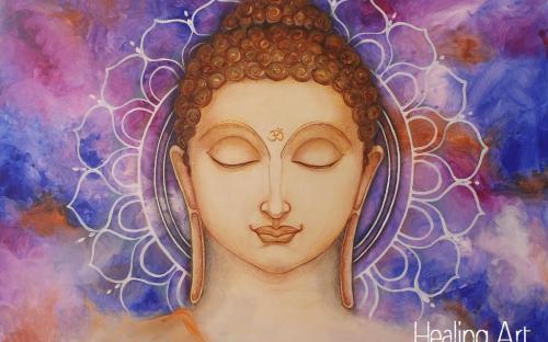 Healing Art - Buddha Flow