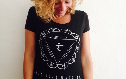 T-Shirt Donna Spirtual Warrior - 3° Chakra Manipura