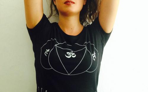 T-Shirt Donna Spirtual Warrior - 6° Chakra Ajna