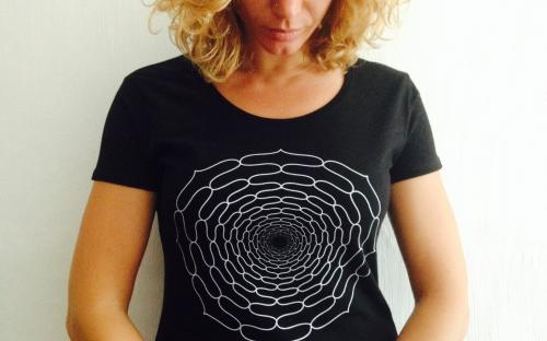 T-Shirt Donna Spirtual Warrior - 7° Chakra Sahasrara