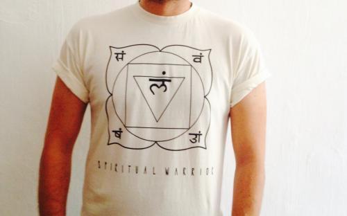 T-Shirt Uomo Spirtual Warrior - 1° Chakra Muladhara