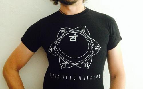 T-Shirt Uomo Spirtual Warrior - 2° Chakra Svadhistana