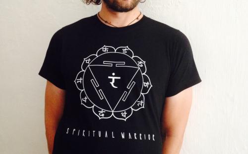 T-Shirt Uomo Spirtual Warrior - 3° Chakra Manipura